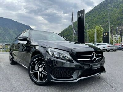 gebraucht Mercedes C200 C-KlasseAMG Line 4matic Kombi