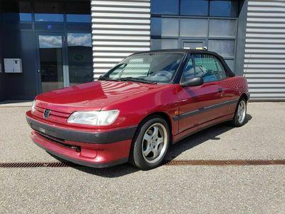 gebraucht Peugeot 306 Cabriolet JG 1994 - Km 142'300 - ab Platz