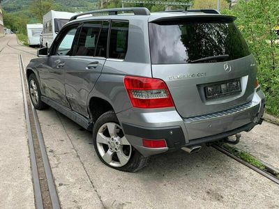 gebraucht Mercedes GLK350 GLK-KlasseCDI beschadigt