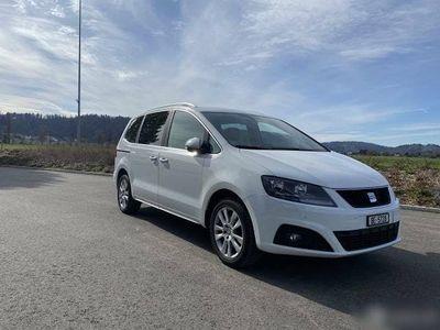 gebraucht Seat Alhambra Diesel 2.0 TDI, 7 Plätzer, Frisch ab MFK
