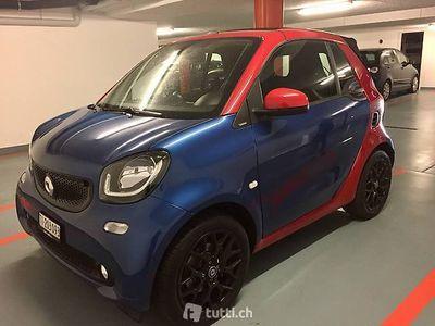 gebraucht Smart ForTwo Cabrio blu e rossa