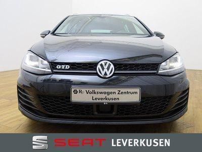 gebraucht VW Golf VII GTD Variant 2.0 TDI DSG ACC XENON NAVI