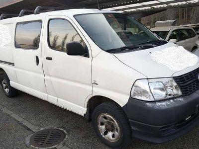 gebraucht Toyota HiAce Kaw. LWB 2.5 D-4D 4x4 5T.