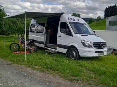 gebraucht Mercedes Sprinter Sprinter Mercedes524 Renntransporter Motocross