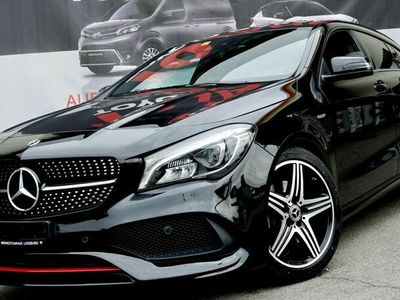 gebraucht Mercedes CLA250 Shooting Brake Sport 4Matic 7G-DCT **Black Edition - Ambientebeleuchtung - Spur/Totwinkel**