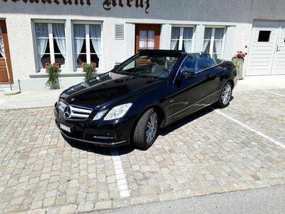 gebraucht Mercedes E250 E-Klasse Mercedes BenzCGI Blue Efficiency Cabriolet