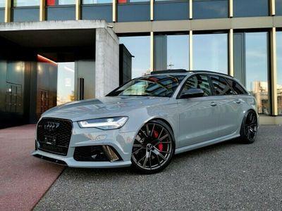 gebraucht Audi RS6 Avant 4.0 TFSI V8 performance (CH) NARDO #ABT705 #AKRAPOVIC *320km/h*