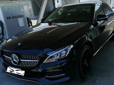 gebraucht Mercedes C220 A-Klasse Mercedes C-Klasse C220 d schwarz Leder Head up Display A-Klasse Mercedes C-Klassed schwarz Leder Head up Display