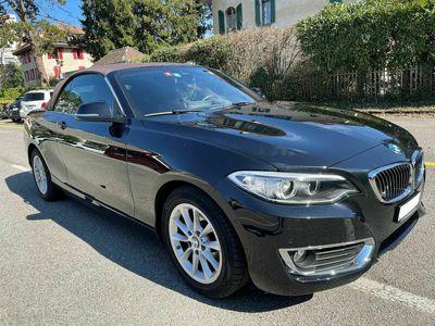 gebraucht BMW 220  i Luxury Line Steptronic (Cabriolet)