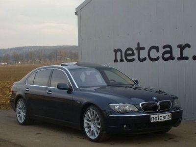 gebraucht BMW 760L i E65 Facelift/VOLL/Abstandradar/20