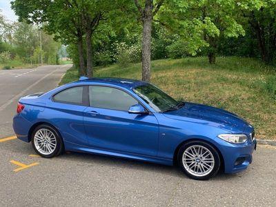 gebraucht BMW 220 2er i M-Paket - Frisch ab MFK & Service!