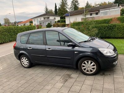 gebraucht Renault Mégane Scénic II dunkelgrau