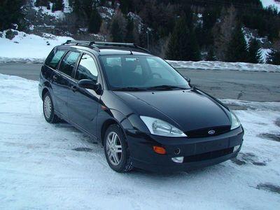 gebraucht Ford Focus Break 2.0, 2001, 300'000 Km, noir métal