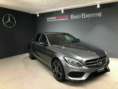 gebraucht Mercedes C250 d Swiss Star AMG 4M