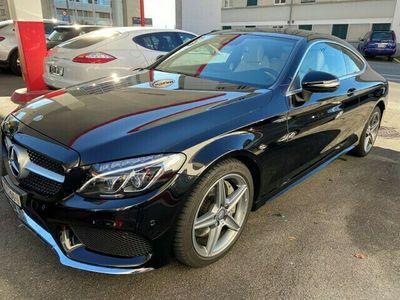 gebraucht Mercedes C250 d AMG Line Coupé 9G-Tronic