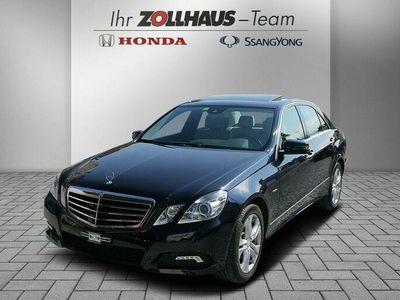 gebraucht Mercedes E350 CDI BlueEfficiency Avantgarde 7G-Tronic