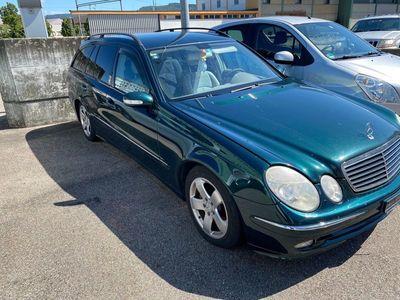 gebraucht Mercedes E320 E-Klasse Mercedescdi 2003