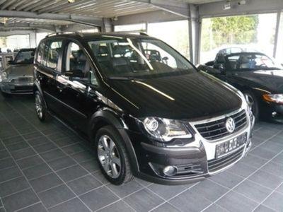 gebraucht VW Touran Cross 1.4 TSI DSG Leder Navi Pdc
