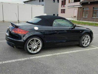 gebraucht Audi TT Roadster  2.0 TFSI, QUATRO, S LINE