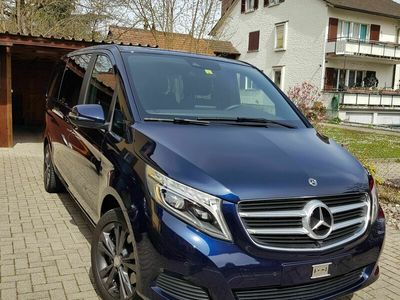 gebraucht Mercedes V250 V-Klassed Trend lang 4matic Van