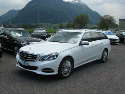gebraucht Mercedes E350 E-KlasseBlueTEC Elégance 4Matic 7G-Tronic