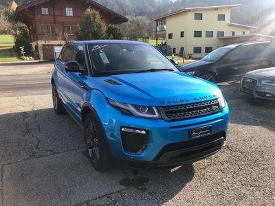 gebraucht Land Rover Range Rover evoque 2.0 TD4 Landmark AT9