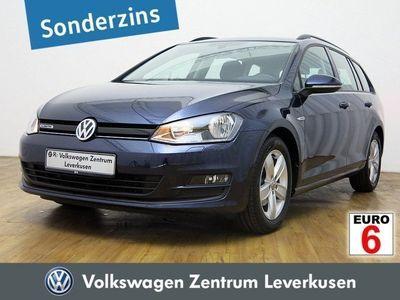 gebraucht VW Golf VII Variant 1.6 TDI PORT NAVI KLIMA SHZ
