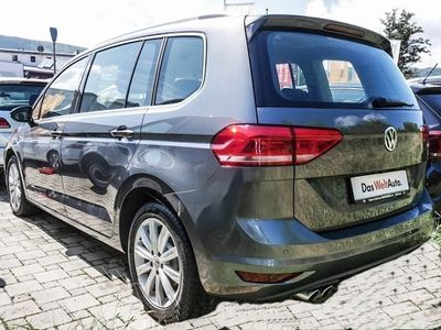 gebraucht VW Touran HIGHLINE 2.0TDI 190PS 7-SITZER LED 17ZOLL