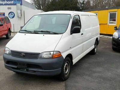 gebraucht Toyota HiAce D-4D LWB Van