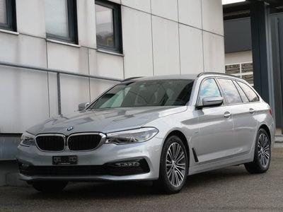 gebraucht BMW 520 5er d xDrive Touring Sport Line Steptronic