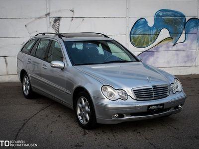 gebraucht Mercedes C270 C-Klasse Mercedes BenzCDI ab MFK