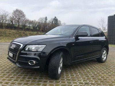 gebraucht Audi Q5 3.0 TDI, S-Line, Panoramadach, 8-Fach-bereift