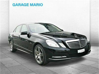 gebraucht Mercedes E350 E-Klasse E 350 CGI BlueEfficiency Elégance 7G-Tronic E-KlasseCGI BlueEfficiency Elégance 7G-Tronic