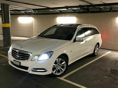 gebraucht Mercedes E350 E-Klasse MercedesCDI 4 Matic 2012 Diesel 265 PS