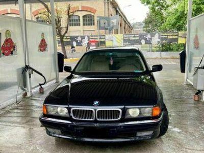 gebraucht BMW 750L 7er I 1995 seltene modell vollausstattung. Panzerglas