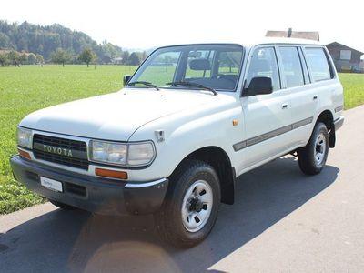 gebraucht Toyota Land Cruiser **Anhängerkupplung 6´000KG**