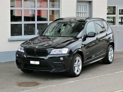 "gebraucht BMW X3 xDrive 35d Steptronic M-Sportpaket ""AHK"""