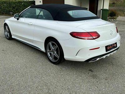 gebraucht Mercedes C220 d Cabriolet AMG Line 4Matic 9G-Tronic