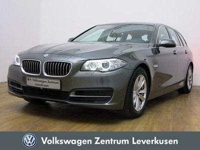 gebraucht BMW 520 dA Touring AUTOM NAVI XENON AHK LEDER PDC