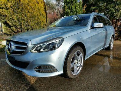 gebraucht Mercedes E350 E-KlasseBlueTEC 4Matic 7G-Tronic