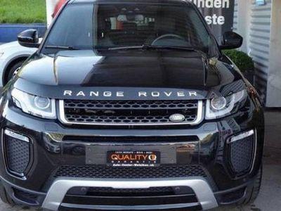 gebraucht Land Rover Range Rover evoque 2.0 TD4 SE Dynamic A