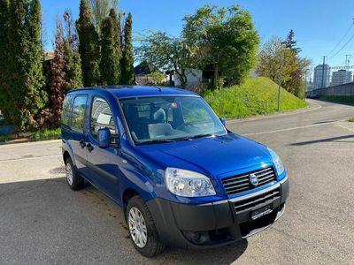 gebraucht Fiat Doblò 1.6 Erdgas & Benzin 98150 KM