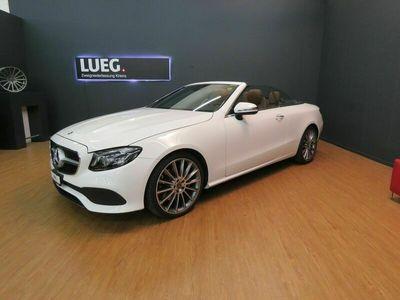 gebraucht Mercedes E350 Cabriolet Avantgarde 9G-Tronic