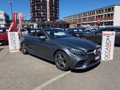 gebraucht Mercedes C200 Cabriolet AMG-Line G-Tr.-Automat