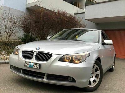 gebraucht BMW 523 5er 523i e60 (08.2020 MFK + Service) 5er i e60 (08.2020 MFK + Service)