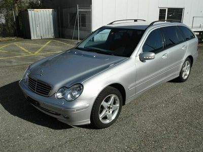 gebraucht Mercedes C320 C-KlasseV6 4matic Kombi