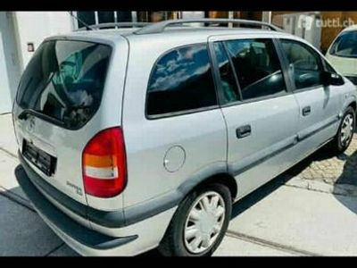 gebraucht Opel Zafira A22 - Ab Platz - 850 CHF - Auto läuft super