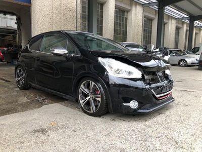 gebraucht Peugeot 208 GTI 1.6 Turbo Unfall