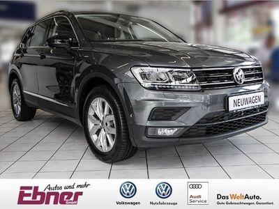 gebraucht VW Tiguan IQ.DRIVE 2.0TDI DSG LED AHK NAVI 18ZOLL