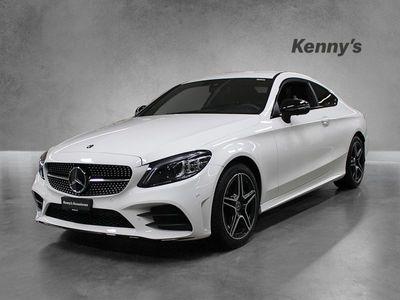 gebraucht Mercedes C200 C-KlasseAMG Line 4Matic Coupé